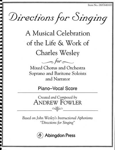 Directions for Singing - Choir/Piano