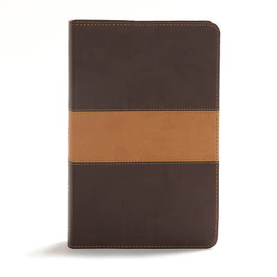 CSB Disciples Study Bible, Brown/Tan Leathertouch