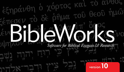 Picture of BibleWorks 10