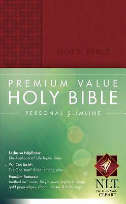 Premium Value Personal Slimline Bible New Living Translation