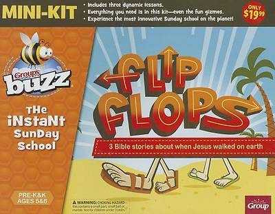 Group Buzz Flip Flops Pre-K & K Mini-Kit