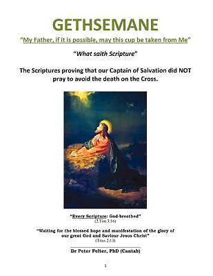 """Picture of Gethsemane """"My Father, If It Is Possible, May This Cup Be Taken from Me"""""""