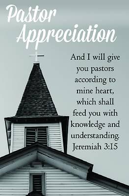 Picture of We Love Our Pastors Bulletin (Pkg 100) Pastor Appreciation