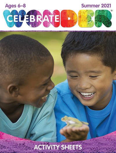 Picture of Celebrate Wonder Ages 6-8 Digital Activity Sheets for 1-5 Students Summer 2021 Download