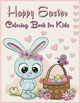 Picture of Happy easter coloring book for kids