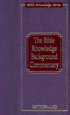Picture of The Bible Knowledge Background Commentary