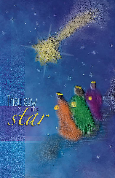Picture of They Saw a Star Advent Regular Size Bulletin