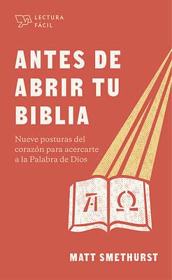 Picture of Antes de Abrir La Biblia