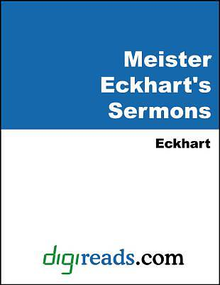 Meister Eckharts Sermons [Adobe Ebook]