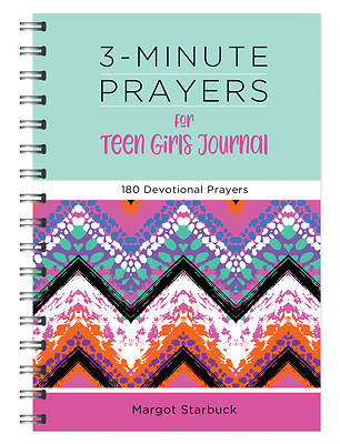 Picture of 3-Minute Prayers for Teen Girls Journal
