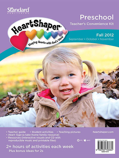 Standards HeartShaper Preschool Teachers Kit Fall 2012