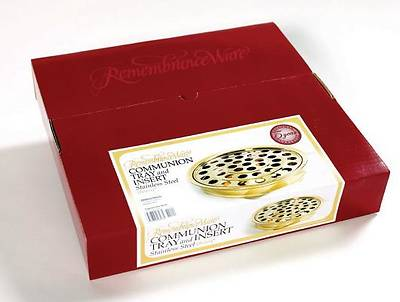 RemembranceWare Brass Communion Tray and Disc