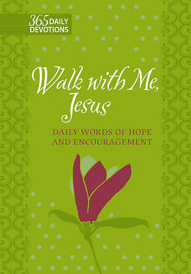 Picture of Walk with Me, Jesus (Faux Leather Gift Edition)