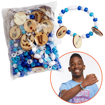 Picture of Vacation Bible School (VBS) 2020 Knights of North Castle Armor of God Bracelet Kit (Pkg of 12)