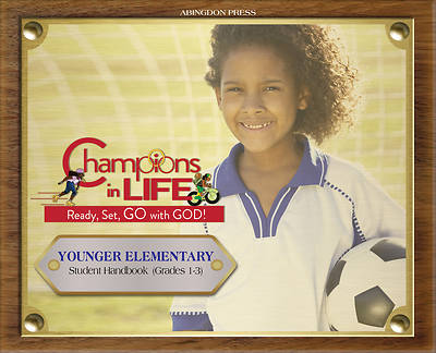 Picture of Vacation Bible School (VBS) 2020 Champions in Life Younger Elementary Student Handbook (Grades 1-3) (Pkg of 6)