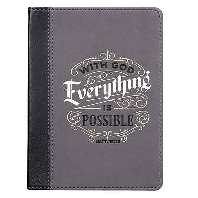Picture of Journal with God All Things Black Matt. 19