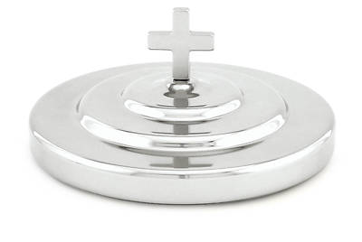 Picture of Silver-tone Communionware Bread Plate Cover