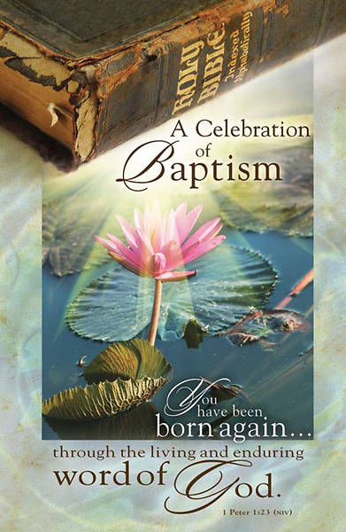 Celebration of Baptism Bulletin, Regular (Package of 100)