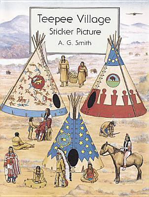 Teepee Village Sticker Picture