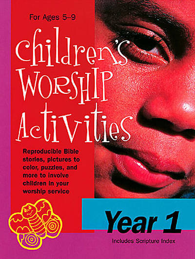 Childrens Worship Activities Year 1 - Download version