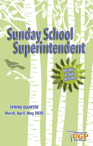 Picture of Union Gospel Superintendent Spring 2020