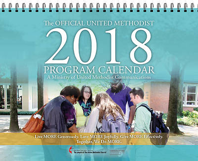 Official United Methodist Program Classic Calendar 2018