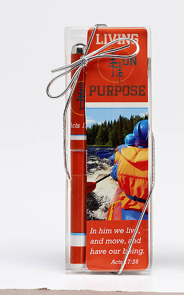 Living on Purpose Bookmark & Pen Set