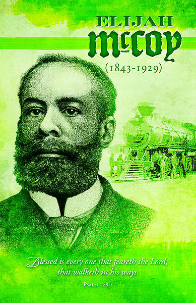 Black History Elijah McCoy Bulletin Regular (Package of 100)