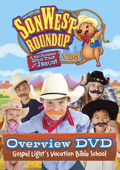 Gospel Light Vacation Bible School 2013 SonWest RoundUp Overview DVD