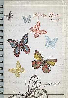 Wirebound Journal Butterflies 2 Cor 5