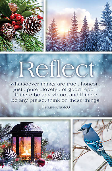 Picture of Reflect Winter General Regular Size Bulletin