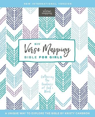 Picture of Niv, Verse Mapping Bible for Girls, Hardcover, Comfort Print