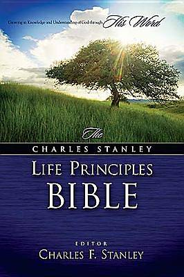 Picture of Charles Stanley Life Principles Bible-NKJV
