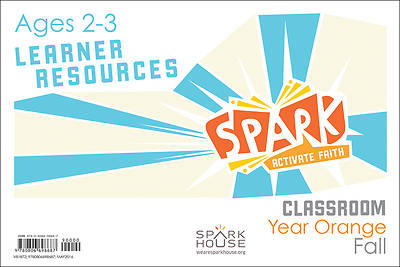 Picture of Spark Classroom Ages 2-3 Learner Leaflet Year Orange Fall