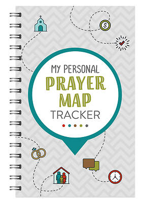 Picture of My Personal Prayer Map Tracker - Slate