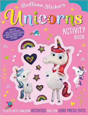 Picture of Unicorns Activity Book