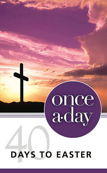 Once-A-Day 40 Days to Easter Devotional - Pack of 10