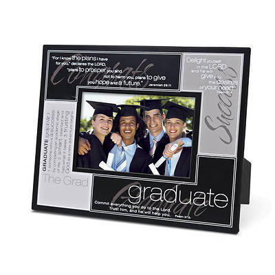 Graduate Definition Metal Photo Frame