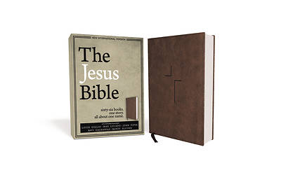 The Jesus Bible, NIV Edition, Imitation Leather