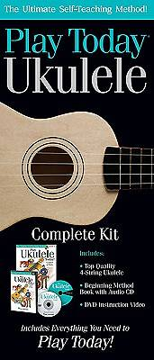 Play Today Ukulele, Complete Kit; The Ultimate Self-Teaching Method! With CD (Audio) And DVD And Paperback Book