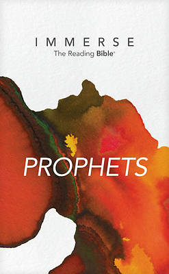 Picture of Immerse Prophets (Softcover)