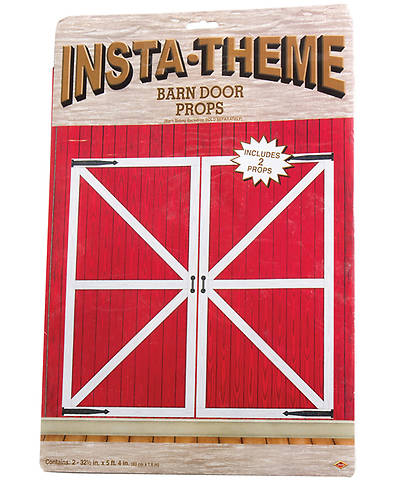 Vacation Bible School (VBS) 2016 Expedition Norway Barn Door Props