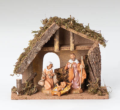 Picture of Fontanini 3 Piece Nativity Set with Starter Stable