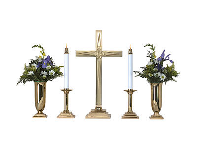 Star Cross Altar Set