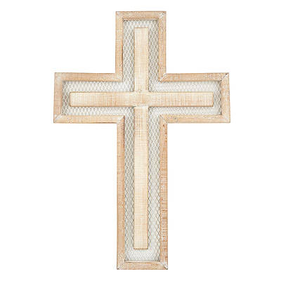 Picture of Layered Wire Wall Cross
