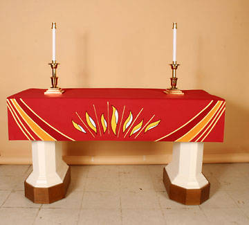 Abbott Hall Ascension Series NAF6558 Pentecost Altar Frontal
