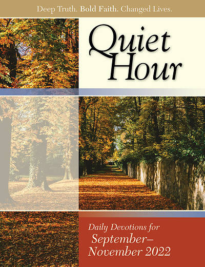 Bible-In-Life Adult Comprehensive Bible Study: The Quiet Hour (Devotional Guide) Fall