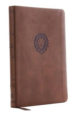 Picture of Kjv, Thinline Bible Youth Edition, Leathersoft, Brown, Red Letter Edition, Comfort Print