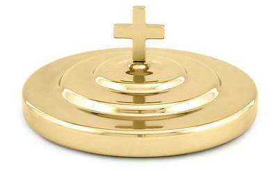 Picture of Brasstone Communionware Bread Plate Cover