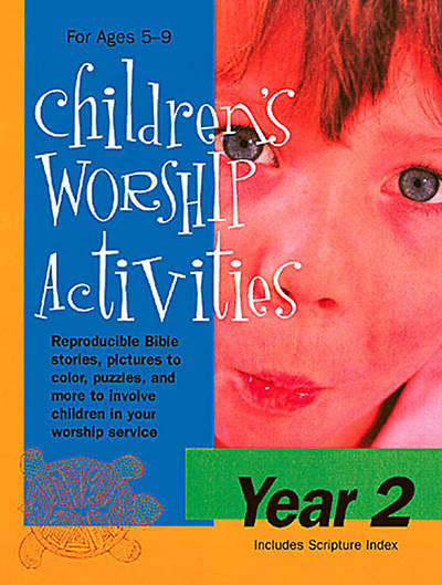 Childrens Worship Activities Year 2 - Download version